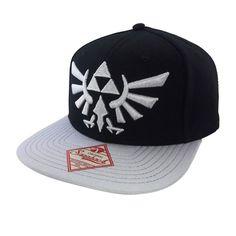 9d00567a67b BioWorld Triforce The Legend of Zelda Black Licensed Snapback  CAP