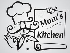 MOMS-KITCHEN-Vinyl-Wall-Quote-Word-Decal-Kitchen-Cook-Love-Family-Chef-Custom