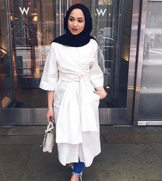 Maria Alia Modest Dresses, Modest Outfits, Modest Fashion, Hijab Fashion, Fashion Outfits, Women's Fashion, Modest Clothing, Chic Outfits, Prom Dresses