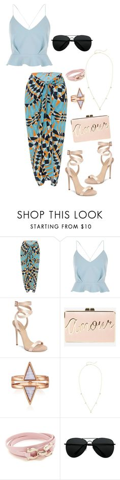 """Saturday ."" by pinklotuschild ❤ liked on Polyvore featuring Lenny, River Island, Giuseppe Zanotti, BCBGMAXAZRIA, ZoÃ« Chicco and Salvatore Ferragamo"