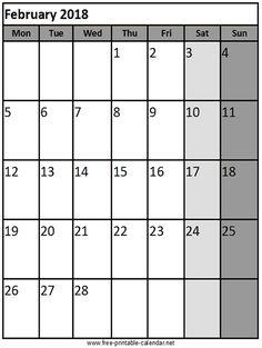 February  Calendar Cute  February  Calendar