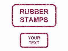 Rubber stamps in PowerPoint PowerPoint Template - One of a number of nice templates from Presentation Magazine.