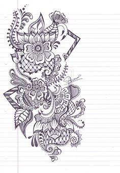 Henna Design 3 by ~iLoveKyu on deviantART