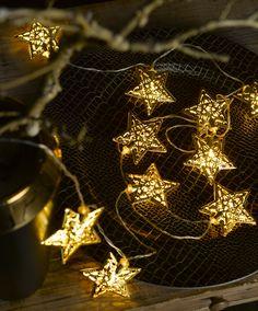 Weihnachtstrends 2015 - Sternlichterkette - Erhältlich bei deinem Einrichtungspartner in der Nähe