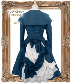 NWT JEJ Religieuse Op in Indigo Blue « Lace Market: Lolita Fashion Sales and Auctions