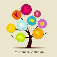 MI PRIMERA COMUNION de bröc, vector libre de derechos #41538981 en Fotolia.com