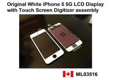 Brand New Original White iPhone 5 5G LCD Display with Touch Screen Digitizer assembly Price= $115.00