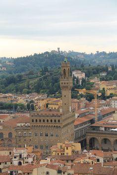 Widoki z wieży Katedry we Florencji