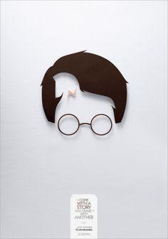 Colsubsidio Book Exchange poster - love the idea!