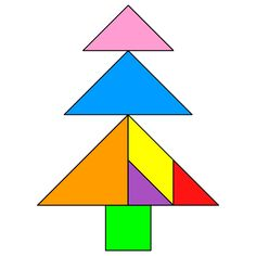 Tangram Fir - Tangram solution - Providing teachers and pupils with tangram puzzle activities Christmas Tree Game, Christmas Art, Tangram Printable, Tangram Puzzles, Triangle Art, Math Word Problems, Business For Kids, Elementary Art, Pattern Blocks