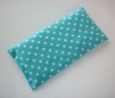Aromatherapy Eye Pillow lavender / flax seeds yoga by Laa766