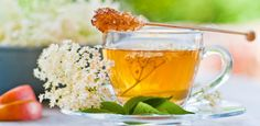 Elderflower Powder and Infusion - Good for Cough, Colds, Sinusitis and Rhinitis Home Remedy For Cough, Natural Cough Remedies, Cold Home Remedies, Tea For Colds, Tea Cocktails, Cold Medicine, Alondra, Homeopathic Medicine, Elderflower