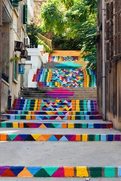 beautiful-painted-stairs