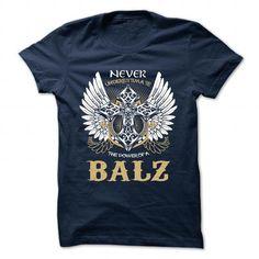 cool BALZ t shirt, Its a BALZ Thing You Wouldnt understand