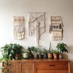 South Western vibes #weaving #potplants #modernist #shelfie - Maryanne Moodie