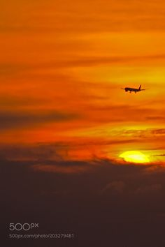 Flying into the Sunset... by Stills_Studio
