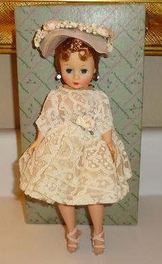 Gorgeous 1959 Madame Alexander Cissette Doll in 731 Outfit Box | eBay