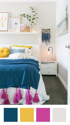8 Rooms That Just Might Make You Abandon Your All-White Bedding Design Interior Bedroom