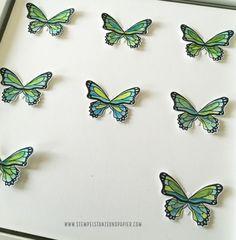 Karten mit Schmetterlingen Stampin up schmetterlingsduett schmetterlingsglück stempelstanzeundpapier-2_Fotor Up, Enamel, Nice Comments, Book Folding, Picture Frame, Stamp, Diy, Vitreous Enamel, Enamels