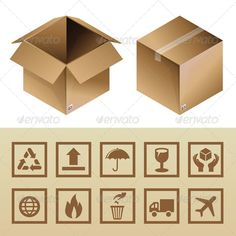 Set of Package Icons  #GraphicRiver         Vector cardboard delivery box and package icons – set of logistics signs and symbols, EPS and AI files, Jpeg file (5000×5000px)     Created: 6July13 GraphicsFilesIncluded: JPGImage #VectorEPS #AIIllustrator Layered: Yes MinimumAdobeCSVersion: CS Tags: arrow #box #brown #cardboard #cargo #collection #delivery #designelement #fire #flame #fragile #glass #icon #label #logistics #order #pack #package #packaging #parcel #pictogram #postage #recycle…