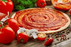 How to make dominos like pizza at home in no time. In this article, we have provided an easy recipe to make pizza. Read to know how pizza is made. Easy Casserole Recipes, Fun Easy Recipes, Pizza Recipes, Dinner Recipes, Baked Fish Fillet, Easy Homemade Pizza, Herb Stuffing, Tempeh, Cheap Easy Meals
