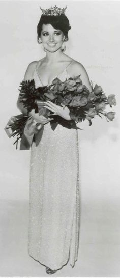 Miss América 1981 - Susan Powell - Oklahoma Born in Elk City, OK
