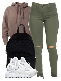 """""""3.4.16"""" by thebaddestbaddie ❤ liked on Polyvore featuring Moschino and NIKE"""
