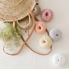 Phil EcoCoton: 100 % økologisk bomull GOTS Yarns, Straw Bag, Organic, Fashion, Photos, Moda, Fashion Styles, Fasion