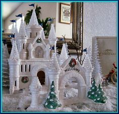 Image detail for -Snow Carnival Ice Palace NEW Department Dept. 56 Snow Village D56 SV ...