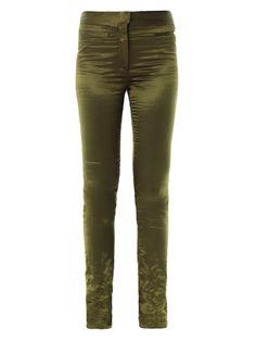 Morrissey satin trousers | Haider Ackermann | MATCHESFASHION.COM