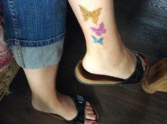 Papillons de cheville..