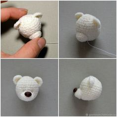 Best 12 Crochet PATTERN in English amigurumi toy brown bear – SkillOfKing. Crochet Bear Patterns, Amigurumi Patterns, Amigurumi Doll, Crochet Animals, Crochet Teddy, Crochet Dolls, Crochet Baby, Knit Crochet, Amigurumi Tutorial