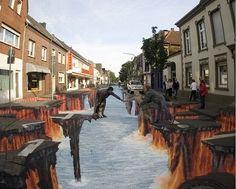 1 USJのトリックアート    antu2008.cocolog-nifty.com