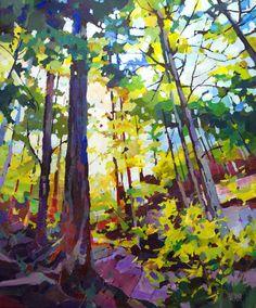 "'West Coast Canopy' 20"" x 24"" Acrylic on Canvas by Randy Hayashi"