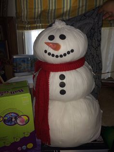 My friend made me a snowman for the photo booth for Layla's Winter Onederland!
