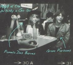 josephfilippazzo: Finally, FINALLY..Gram Parsons with Pamela Des Barres!!!!!