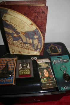 Harry Potter Lot Bookmarks Marauder's Map Keychain Magnet Snape Sorting Hat NEW