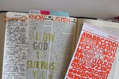 shanna noel: Journaling Bible | Allowing God To Surprise You