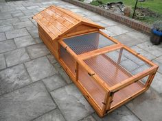 Bespoke Rabbit Hutch