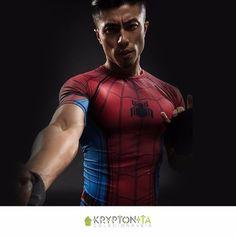 Camiseta Compression Homem Aranha (Guerra Civil)