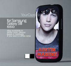 Austin Mahone With Signature, For Samsung s3 Hard Plastic Black | YourCazeMate - Accessories on ArtFire