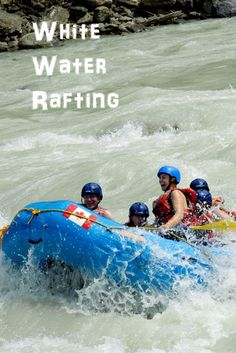 White Water Rafting on the Kicking Horse River in Gold, BC. >>>> SO MUCH FUN!!