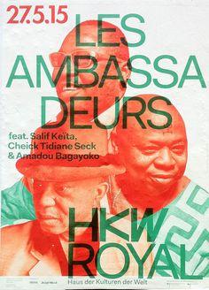 Les Ambassadeurs at HKW – found in Kreuzberg