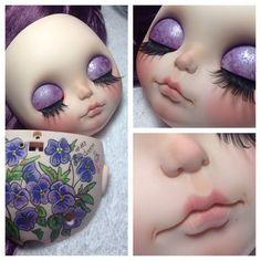 Custom Blythe by Gisele Bianchini https://estudiobianchini.wordpress.com/
