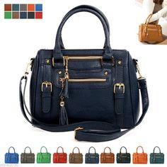 d325b6914b92 NEW Women Ladies Shoulder Bag Tote Satchel Hobo CrossBody Handbag Faux  Leather