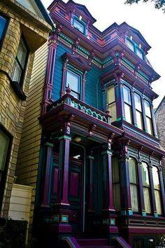 Dark Victorian Colors