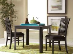 Eclipse Square Dining Table (via @CORT Furniture)