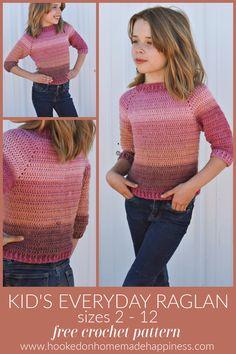 Bag Crochet, Crochet For Boys, Crochet Clothes, Crochet Baby, Crochet Children, Crochet Style, Crochet Scarves, Free Crochet, Crochet Top