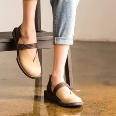 Leather women shoes women accessories