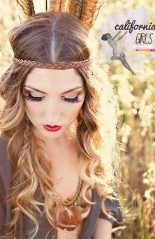 hair beauty lips lipstick boheme vintage light nature summer fashion